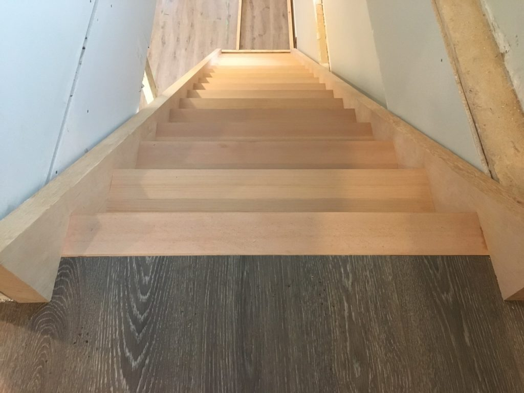 Stairs To Finish Floor